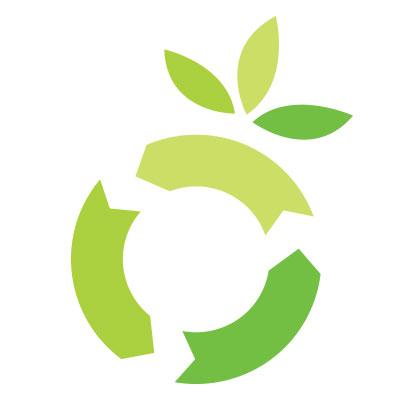 logo for miljøvennlig nettbutikk, nettsted eller skytjeneste