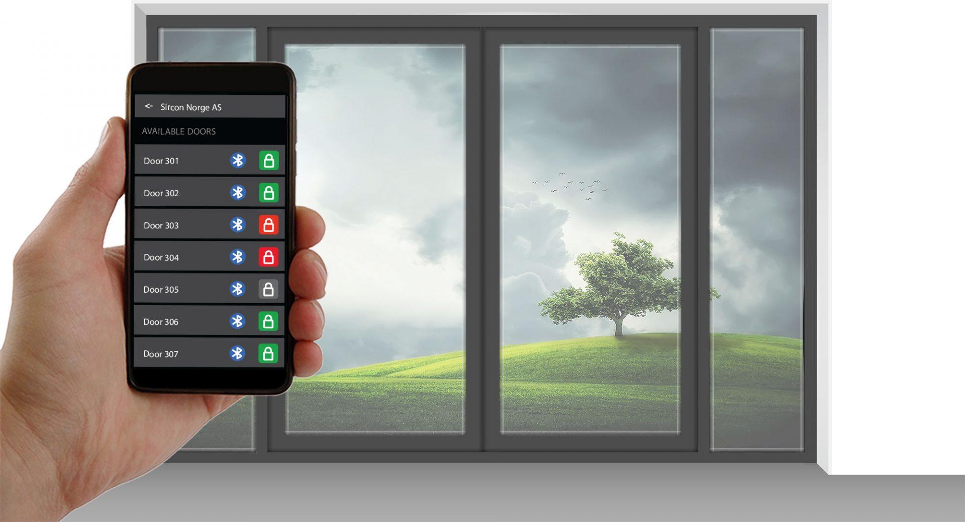 illustrasjonsbilde adgangskontroll